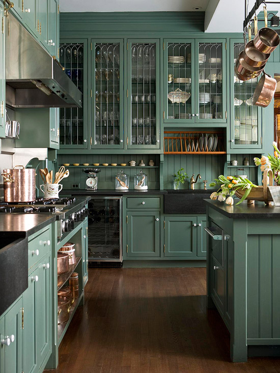 Kitchen cabinets better homes