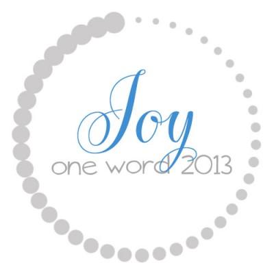 OneWord2013_Joy