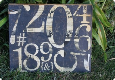 vintage-number-art