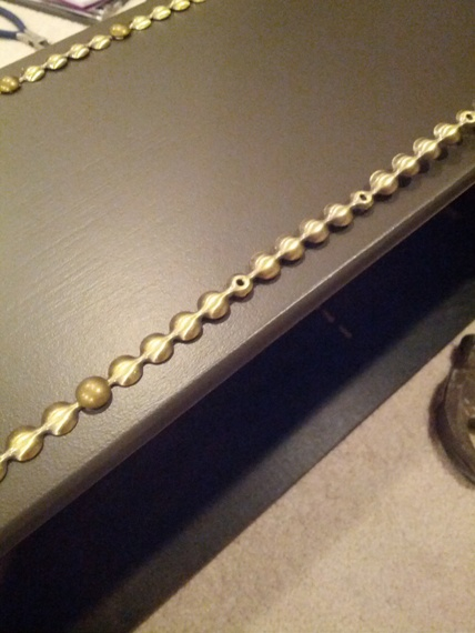 Attaching Nailhead Trim