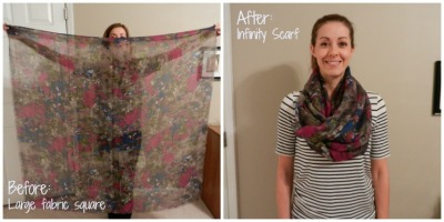 Scarf Before and After
