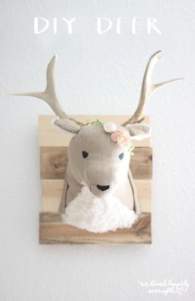 cloth deer